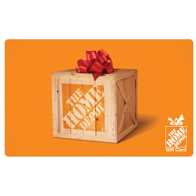 HOME DEPOT<sup>&reg;</sup> $25 Gift Card - Find everything you need for your home improvement projects.