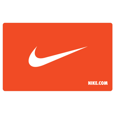 NIKE<sup>&reg;</sup> $25 Gift Card - Find everything you need in sportswear and equipment!